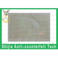 CT hologram overlay sticker manufacturer