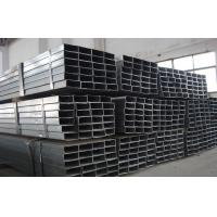 China BS1387 Q235 Square Galvanized Steel Tube / FBE Pipe For Structure wholesale