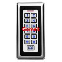 China Commercial Keypad Door Lock Built In Buzzer , Indoor 12VDC Rfid Keypad Door Lock wholesale