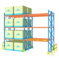 China 100cm Width Heavy Duty Pallet Racks For Supermarket / Factory Corrosion Protection wholesale