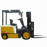 China Electric Forklift, Forklift Truck, Lifting Capacity of 3T wholesale