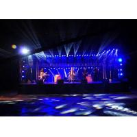 China Electronic 14 segment hire LED Screen lager Wide Vision 7kg 250mm x 250mm wholesale