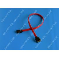 China 7 Pin Internal Serial ATA Data Cable Male To Female SATA Extension Data Cable wholesale