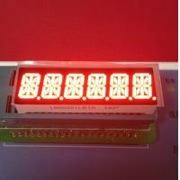 China Super Bright Red 6 Digit 14 Segment Led Display 10mm For Taximeter wholesale