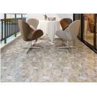 China Square Balcony Floor Ceramic Tile Brick Style Low Water Absorption Rate wholesale