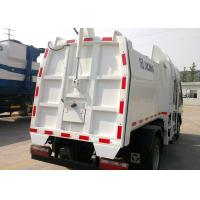 Wholesale Hydraulic Side Loader Garbage Truck 5000L Special Purpose Vehicles For Collecting Refuse from china suppliers