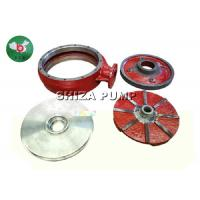 China Single Stage ChemicalWeir Pump Parts Throatbush  Rubber / Metal Liner Inclued wholesale