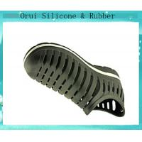 China Factory direect wholesale comfortable men's sport silicone shoes wholesale