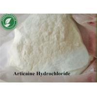 China Topical Anesthetic Powder Articaine Hydrochloride For Pain Killer CAS 23964-57-0 wholesale