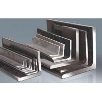 China Bright Silve Steel Angle Bar 3 - 25 mm Thickness Low Carbon Water Proof wholesale