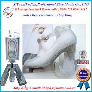 China Classic Pvc Jelly Lady Shoe Moulds, shoes moulds Making Pvc Sandals, PVC crystal molds wholesale