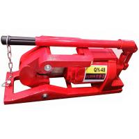 China QY48 20T Hydraulic Wire Rope Cutter / Steel Cable Cutter 0.3L Oil Capacity wholesale