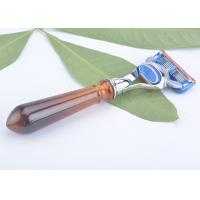 China Deluxe turtle shell color Fusion razor  handle Compatible wholesale