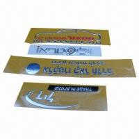China 3D Soft Nameplates for Decoration, Customized Sizes are Accepted wholesale