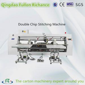 China Three Servo Driver Best Usage Double Chip Nail Box Stitching Machine wholesale