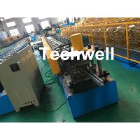 China 1.0-3.0mm Coil Thickness , PLC Frequency Control Guide Rail Cold Roll Forming Machine wholesale