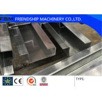 China Automatic 3mm GI Door Frame Roof Panel Roll Forming Machine Use Gearbox Driven wholesale