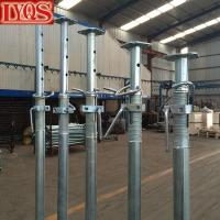 China Size 3 Galvanised Acrow Props , Scaffolding Steel Prop For Concrete Floor Building wholesale