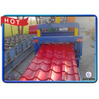 Buy cheap Speed 5m/Min Roof Panel Glazed Tile Roll Forming Equipment With 18 Forming from wholesalers