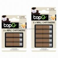 China Electronic Cigarette Cartridges with Coffee/Red Wine Flavors on sale