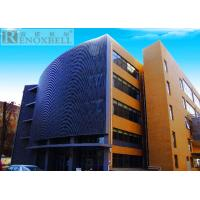 Quality Decoration Exterior Metal Wall Panels For Facade System Cladding Wall for sale