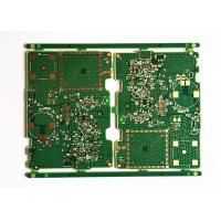 Buy cheap FR4 1.6MM  Green Soldermask Multilayer Printed Circuit Board with ENIG from wholesalers