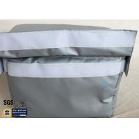 China 25MM Thermal Insulation Materials Grey Electrical Actuator Removable Blanket on sale