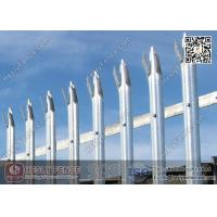 China 1.8X2.75m Steel Palisade Fence With Powder Coated | China Palisade Fencing Factory wholesale