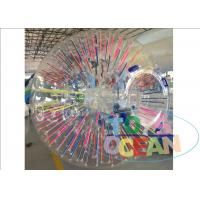 China PVC /TPU Material Human Body Zorb Ball , Outdoor Game Giant Inflatable Human Ball wholesale