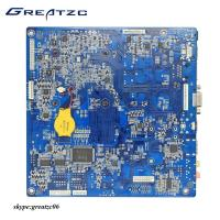 China Intel Quad Core J1900 Fanless Motherboard , Dual LAN Mainboard With DC Power wholesale