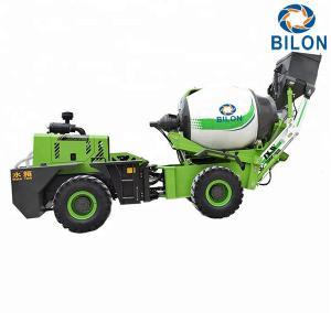 China 1.5 CBM Self Loading Mobile Concrete Mixer Machine Charging Capacity 2300L on sale