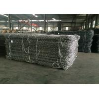 China Pvc Coated And Galvanized Gabion Basket / Gabion Wire Mesh For Protecting Dam wholesale