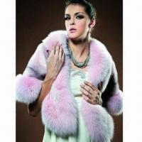 China Fox Rex Fur Cape, Suitable for Ladies, Keeps Warm on sale