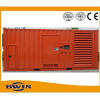 China Container type Cummins Diesel Generators / Power Genset 1000kw 1250kva wholesale
