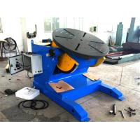 Buy cheap 4500lbs Capacity Tilting Rotary Pipe Welding Positioners with Motor Driven Speed from wholesalers