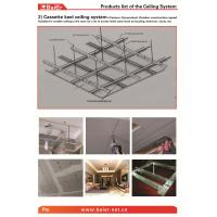 China Suspending Drywall Ceiling Metal frame (Main channel, Furring channel,Wall angle) with ISO,ASTM,SONCAP wholesale