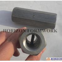 China OEM Formwork Tie Rod System , Steel Hex Nuts Stop Pin For Threadbar Connection wholesale
