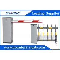 China 3-6m Remote Control Boom Barrier Gate 60 W Car Park Boom Gates With Safety Sensor wholesale