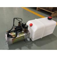 China High Performance  Dump Trailer Micro Hydraulic Power Packs With 8L Plastic Oil Tank wholesale