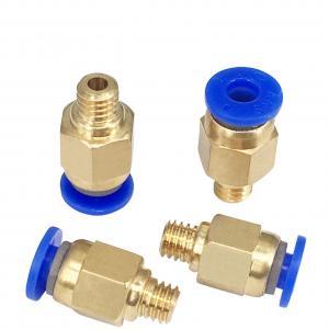 China Golden Blue PC4 M5 PC4 M6 3D Printer Accessories Pneumatic Connectors wholesale