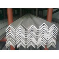 Buy cheap Hot Rolled Stainless Steel Angle Bar , No.1 Finish Stainless Steel Angle Stock from wholesalers