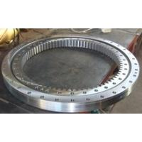 China Three Row Roller Type Gear Slewing Ring Bearing Aerial Working Platform Automation Line Marine Crane Slewing Bearing wholesale