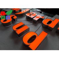 China IP65 Waterproof LED Channel Letters , Neuture White 6500K Backlit Sign Letters wholesale
