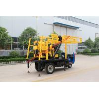 Buy cheap Multifunctional Water Well Drilling Rig With 200m Drilling Depth Capacity from wholesalers