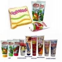 Buy cheap Offset Printing Round / Oval Flat Food Packaging Tube With Screw Cap , 5ml - from wholesalers