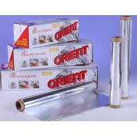 High Temperature Sterilization Aluminium Foil Roll For Food Barbeque / Baking