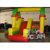 China Colorful 0.55 Mm PVC Inflatable Bouncer Combo Durable Safety For Children wholesale