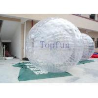 China Unti-UV Durable Water Zorbing Ball Interesting Hot Air Welded on sale
