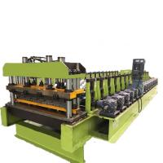 China 5T Corrugated Roll Forming Machine Metal Wall Siding Making Machine wholesale