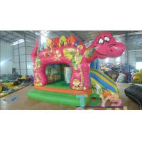 China 110 - 230V Blower Mini Inflatable Bounce House Dinosaur Jumping Bounce Castle wholesale
